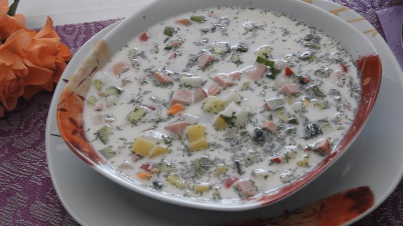 Салат с курицей и омлетом - Пошаговый рецепт с фото Салаты 24